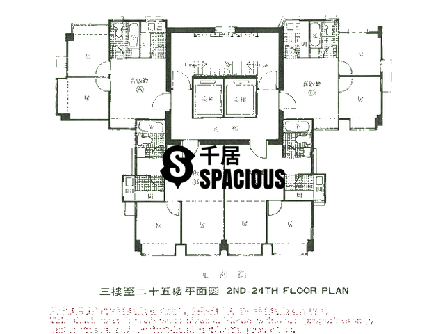 Cheung Sha Wan - Green Court Floor Plan 02