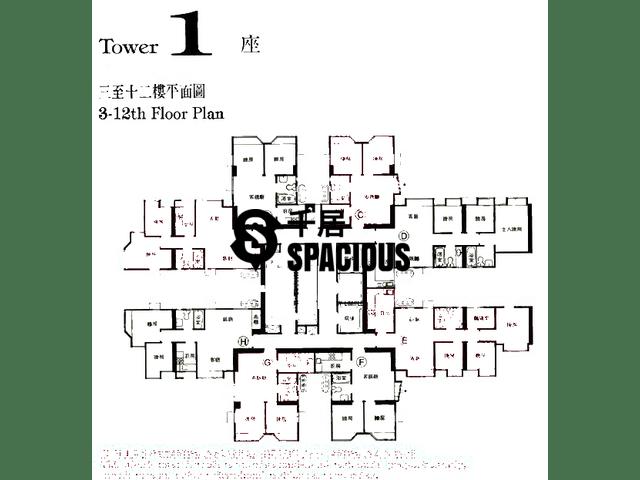 Ma On Shan - MA ON SHAN CENTRE Floor Plan 01