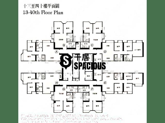 Ma On Shan - MA ON SHAN CENTRE Floor Plan 07