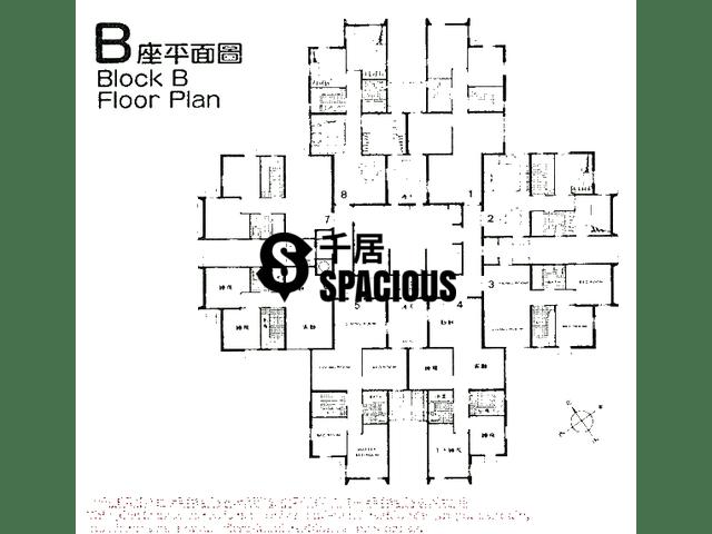 Tsuen Wan - LUK YEUNG SUN CHUEN Floor Plan 09
