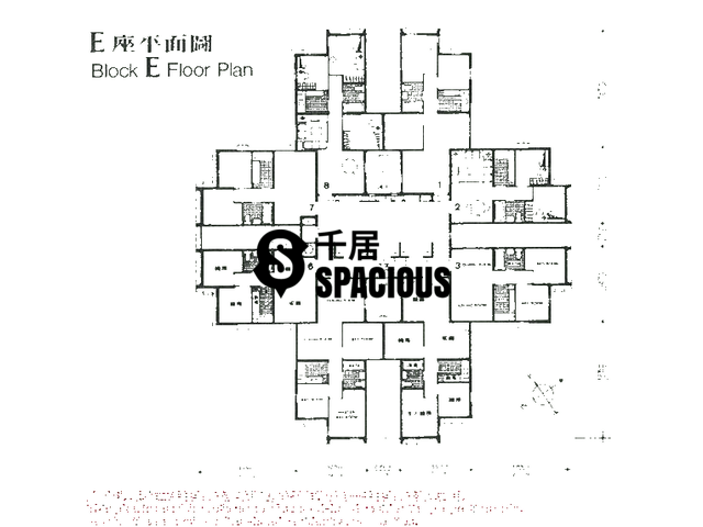 Tsuen Wan - LUK YEUNG SUN CHUEN Floor Plan 14