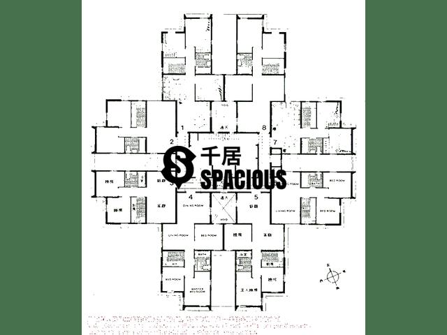 Tsuen Wan - LUK YEUNG SUN CHUEN Floor Plan 02