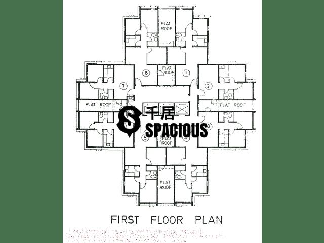 Tsuen Wan - LUK YEUNG SUN CHUEN Floor Plan 13