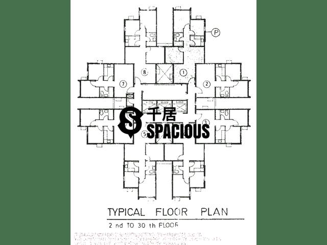 Tsuen Wan - LUK YEUNG SUN CHUEN Floor Plan 11