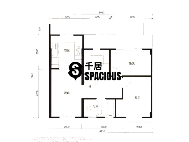 Lok Ma Chau - SCENIC HEIGHTS Floor Plan 01