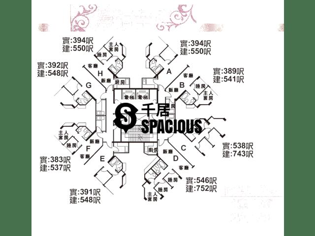 Sheung Shui - ROYAL JUBILEE Floor Plan 02