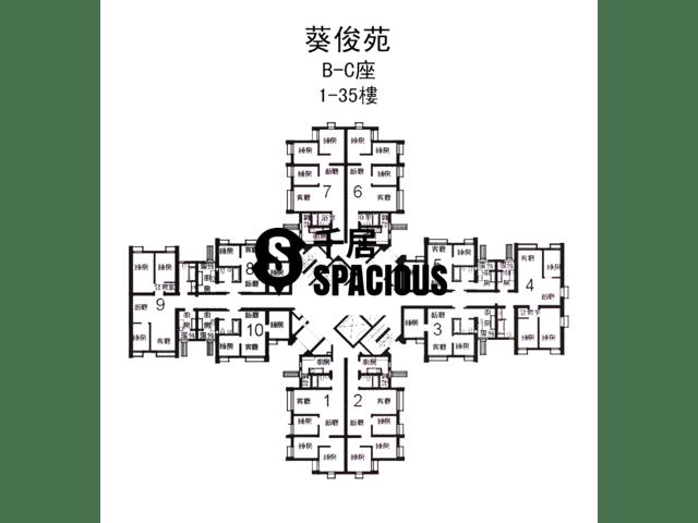 Kwai Chung - KWAI CHUN COURT Floor Plan 01