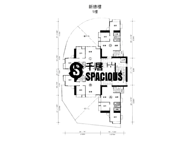 Chai Wan - Sun Tak House Floor Plan 02