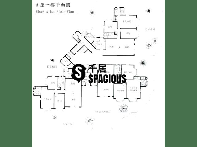 Gold Coast / So Kwun Wat - SPRING SEAVIEW TERRACE Floor Plan 02