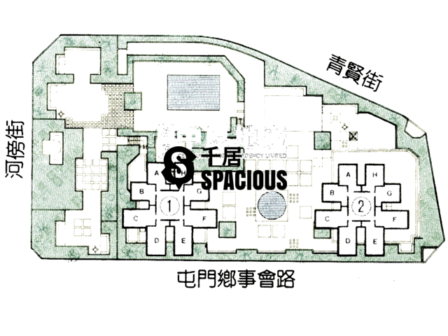 屯门 - 康丽花园 平面图 03