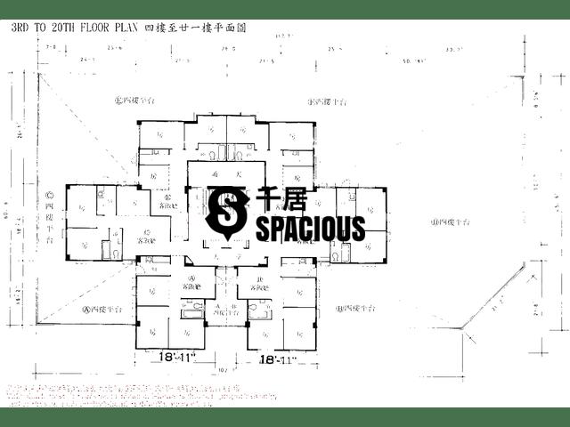 Yuen Long - MAN YU BUILDING Floor Plan 01