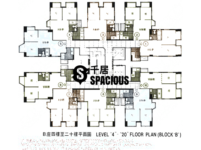 Sha Tin - CHUEN FAI CENTRE Floor Plan 01