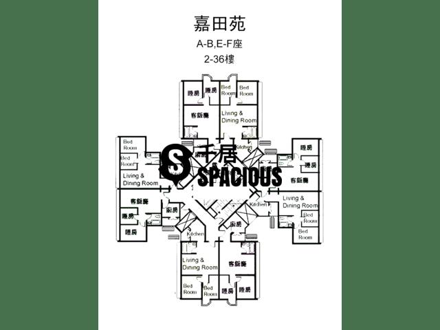 Tai Wai - KA TIN COURT Floor Plan 01