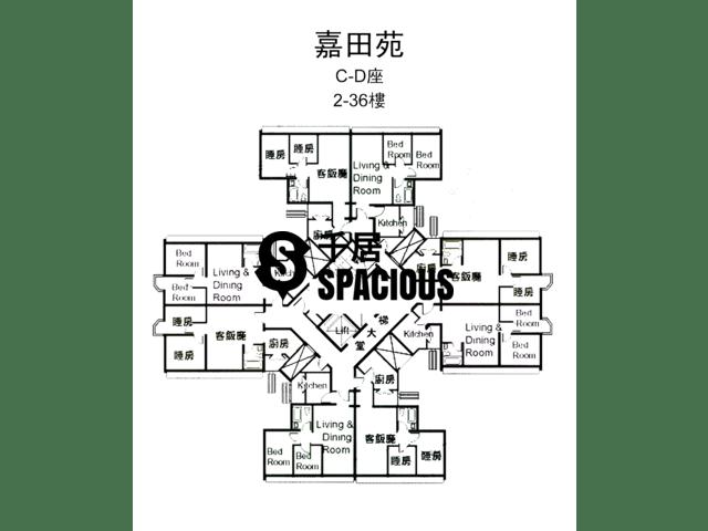 Tai Wai - KA TIN COURT Floor Plan 02