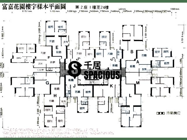 Tai Wai - GRANDWAY GARDEN Floor Plan 02