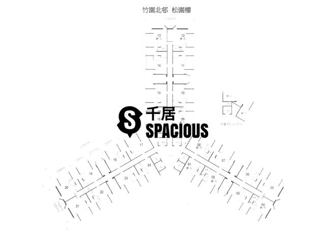 Wong Tai Sin - Chuk Yuen North Estate Floor Plan 01