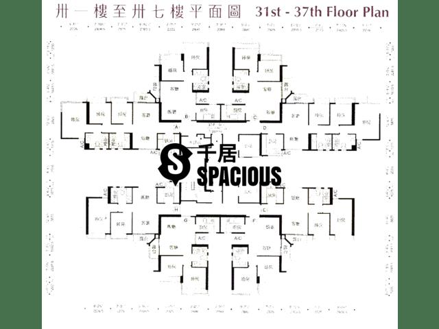 鲗鱼涌 - 御皇台 平面图 05