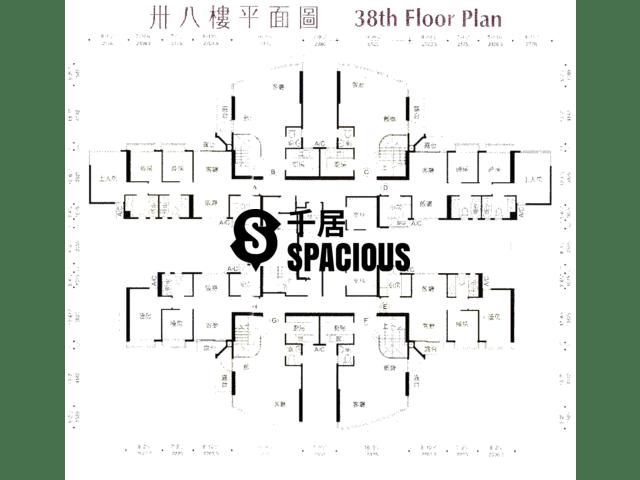 鲗鱼涌 - 御皇台 平面图 04