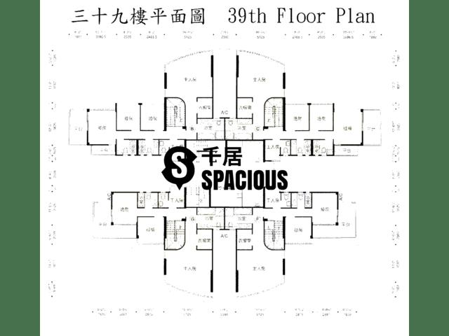 鲗鱼涌 - 御皇台 平面图 01