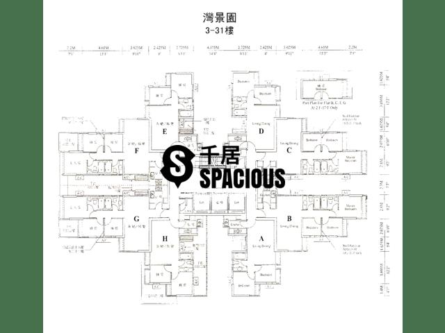 Chai Wan - Bayview Park Floor Plan 01