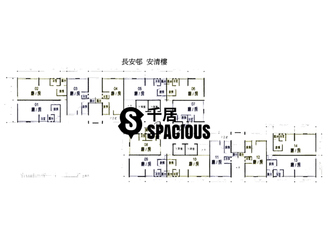 Tsing Yi - CHEUNG ON ESTATE Floor Plan 16