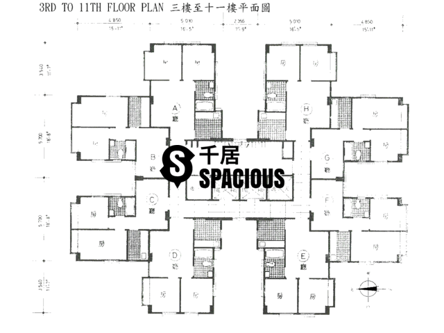 Yuen Long - LIN FAT BUILDING Floor Plan 01