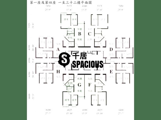 Tsing Yi - TIVOLI GARDEN Floor Plan 02