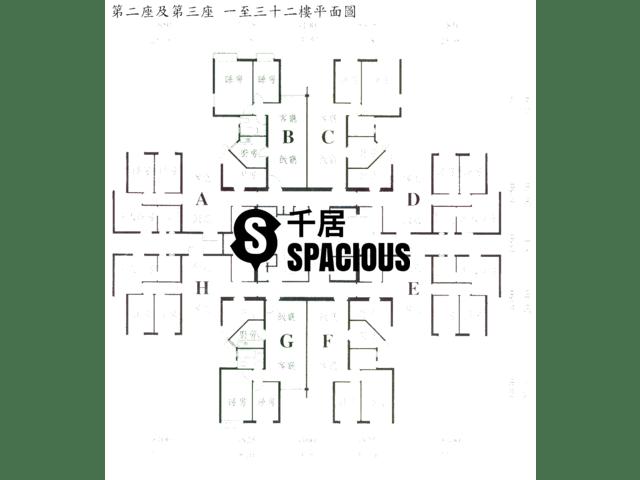 Tsing Yi - TIVOLI GARDEN Floor Plan 01