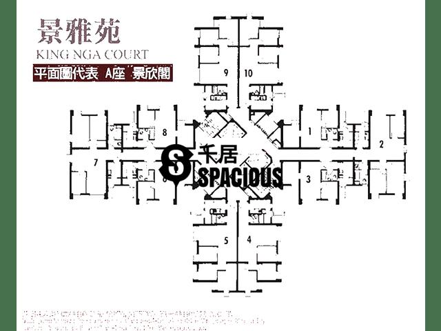 Tai Po - KING NGA COURT Floor Plan 01