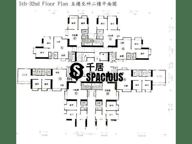 元朗 - 元朗廣場 平面圖 01