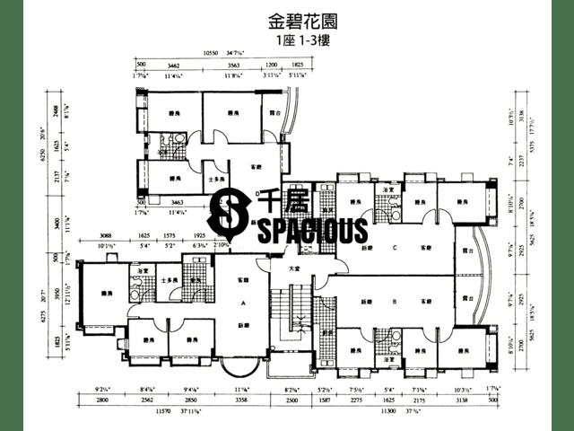 Yuen Long - THE ELDORADO Floor Plan 09