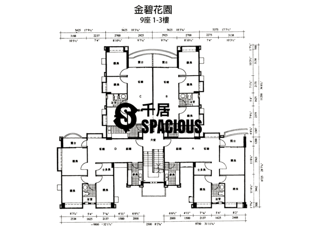 Yuen Long - THE ELDORADO Floor Plan 01