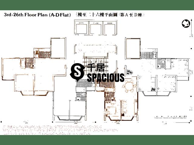 屯门 - 华乐大厦 平面图 01