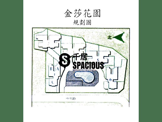元朗 - 金莎花園 平面圖 05