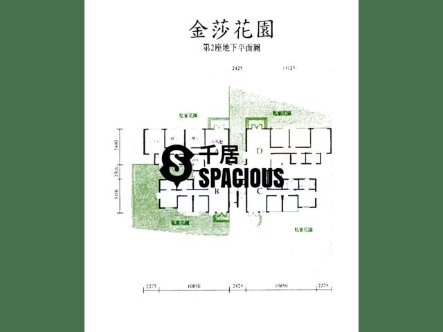 元朗 - 金莎花園 平面圖 02