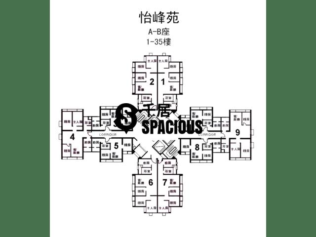 Kwai Chung - YI FUNG COURT Floor Plan 01