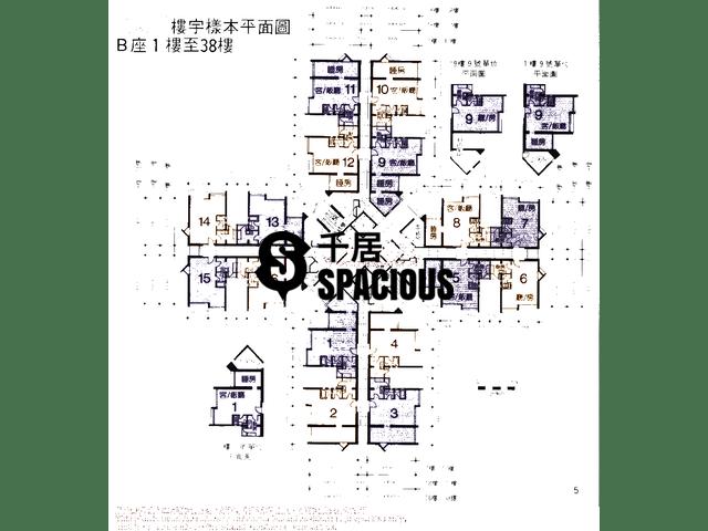 Hang Hau - YU MING COURT Floor Plan 01