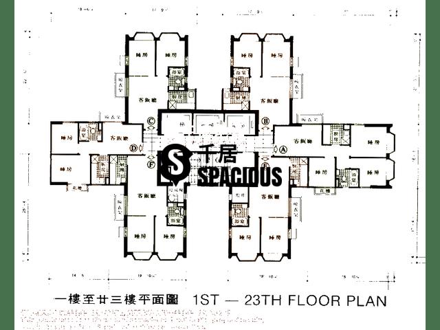 沙田 - 沙田中心 平面图 02