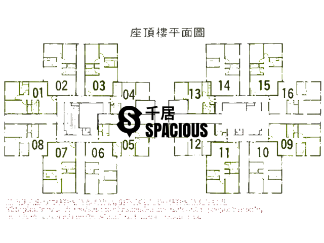 Kowloon Bay - Telford Gardens Floor Plan 06