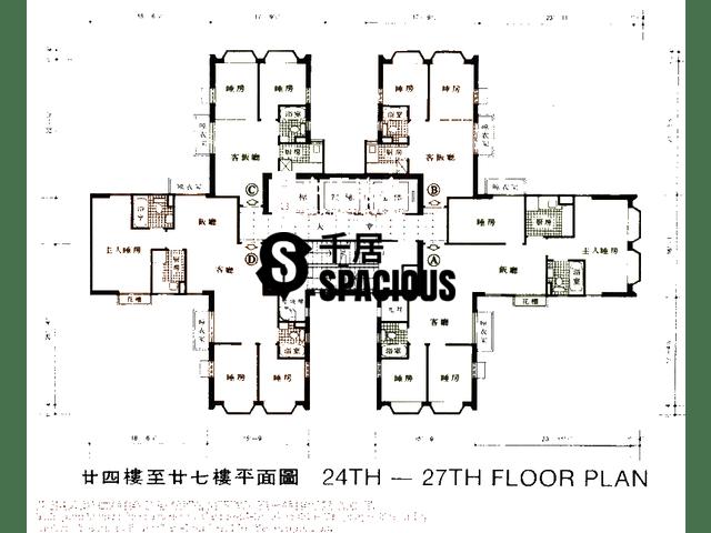 沙田 - 沙田中心 平面图 03