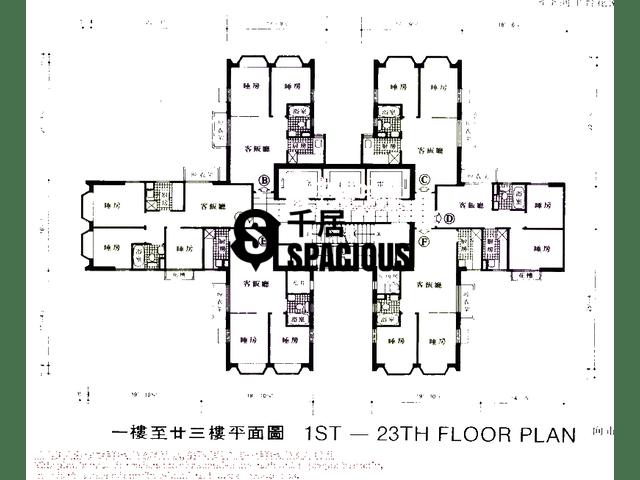 沙田 - 沙田中心 平面图 06