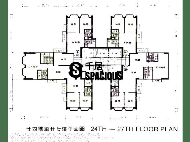 沙田 - 沙田中心 平面图 04