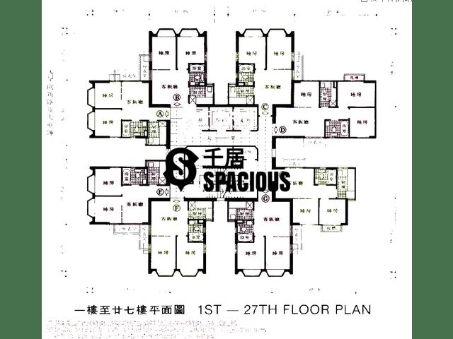 沙田 - 沙田中心 平面图 05