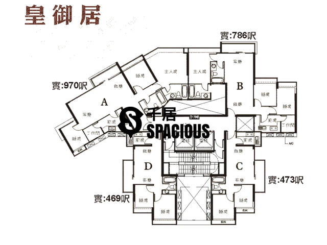 Sha Tin - KINGSTON LODGE Floor Plan 03