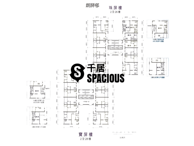 Yuen Long - LONG PING ESTATE Floor Plan 04