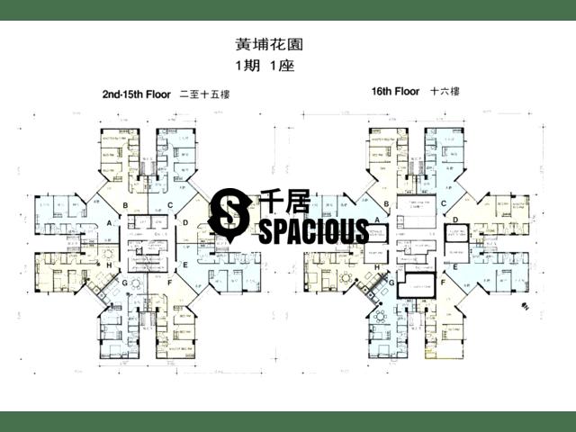 Whampoa Garden - Whampoa Garden Floor Plan 67