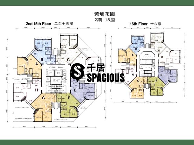 Whampoa Garden - Whampoa Garden Floor Plan 71