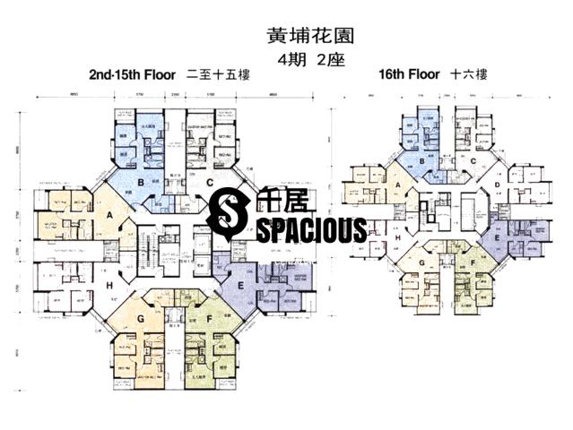 Whampoa Garden - Whampoa Garden Floor Plan 34