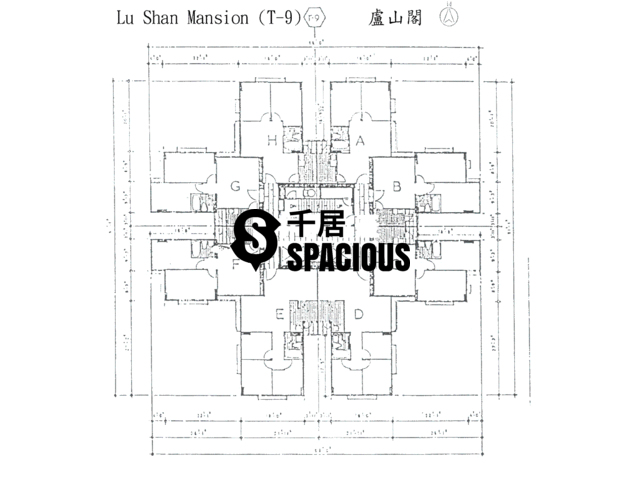 Tai Koo Shing - Taikoo Shing - Choi Tien Mansion Floor Plan 101