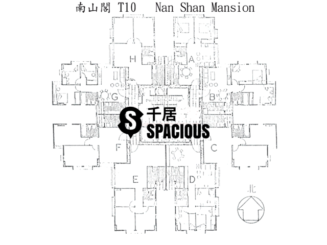 Tai Koo Shing - Taikoo Shing - Choi Tien Mansion Floor Plan 30
